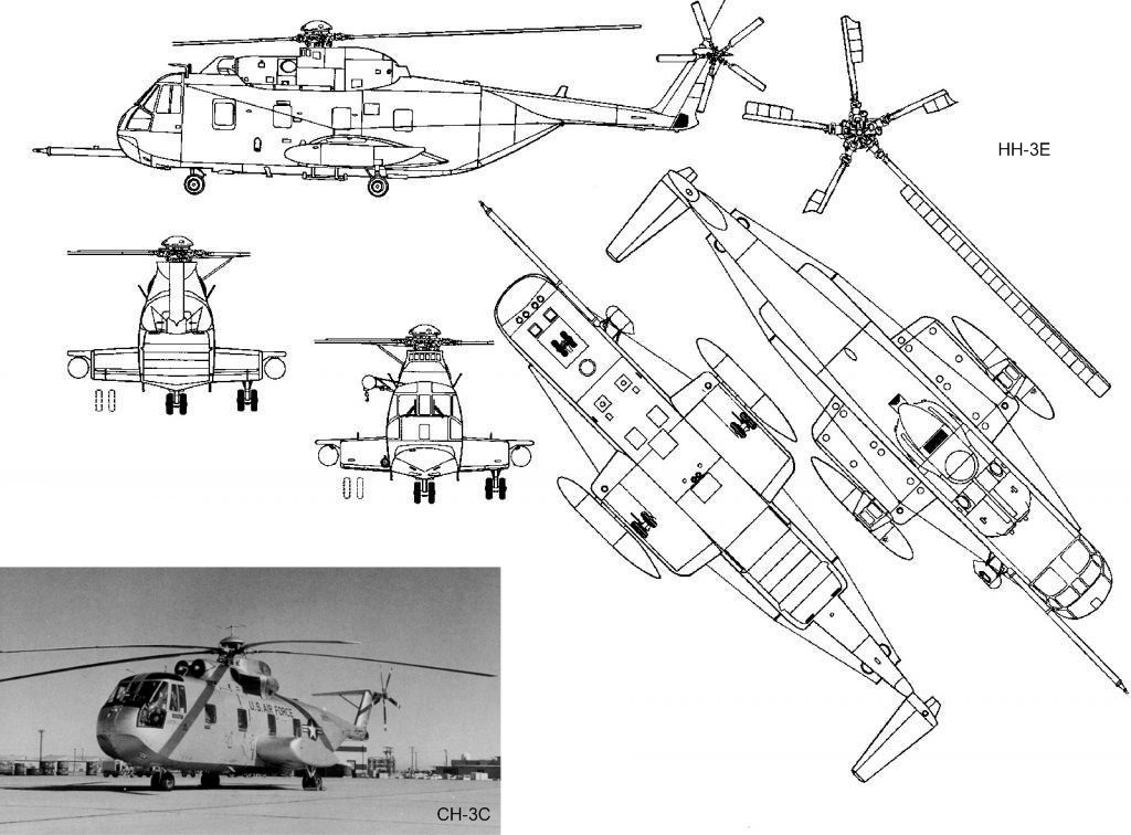 Sikorsky CH-3 Jolly Green Giant